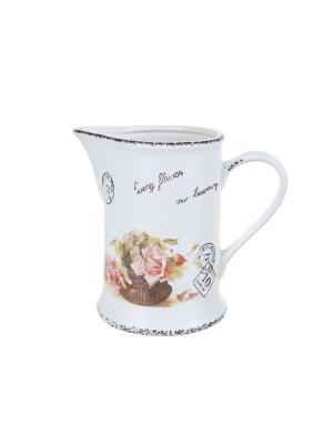 Кувшин Чайная роза, ENS GROUP. Цвет: розовый