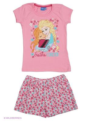 Пижама Frozen. Цвет: розовый