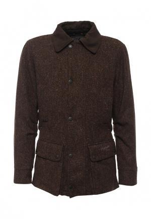 Куртка John Partridge. Цвет: коричневый