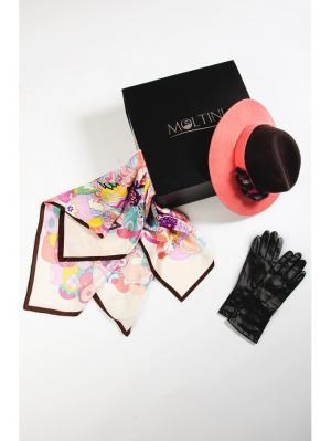 Комплект Moltini. Цвет: коричневый, розовый, черный