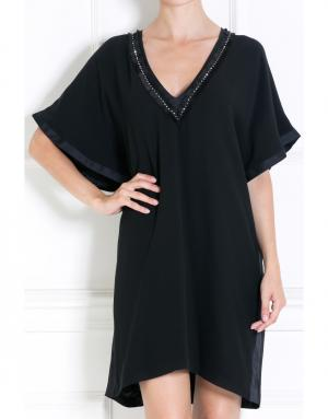 Шелковое платье Jay Ahr. Цвет: черный