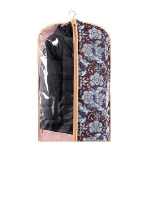 Чехол для одежды малый 60х100см Прованс 1301 COFRET. Цвет: бежевый,коричневый,голубой