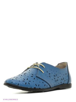 Ботинки Walrus. Цвет: голубой