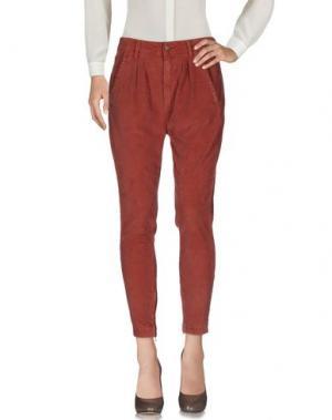 Повседневные брюки REIGN. Цвет: телесный