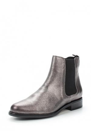 Ботинки Andre. Цвет: серебряный