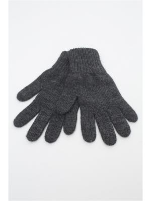 Перчатки FOMAS. Цвет: антрацитовый
