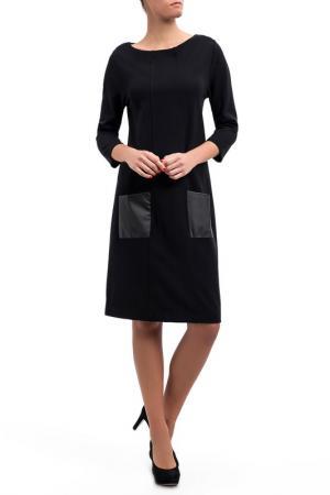 Платье DIBYE. Цвет: черный