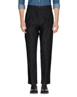 Повседневные брюки ONE SEVEN TWO. Цвет: стальной серый