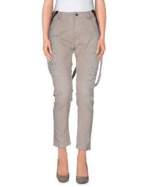 Повседневные брюки STAFF JEANS & CO.. Цвет: светло-серый