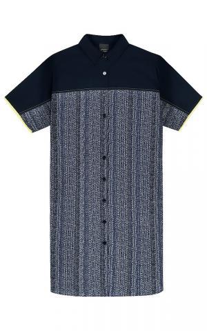 Платье-рубашка с принтом Persona