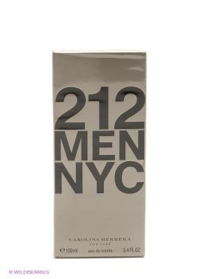 Туалетная вода Carolina Herrera 212 Men, 100мл.. Цвет: прозрачный