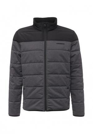 Куртка утепленная Lindbergh. Цвет: серый