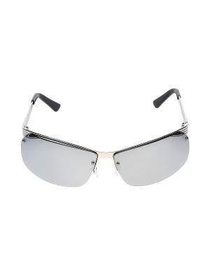 Очки солнцезащитные Infiniti. Цвет: серебристый, черный, серый