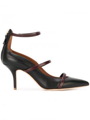 Туфли с ремешками Malone Souliers. Цвет: чёрный