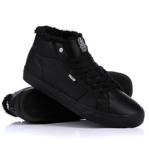 Кеды кроссовки утепленные  Corsair Fur Black/Black Sher Fallen. Цвет: черный