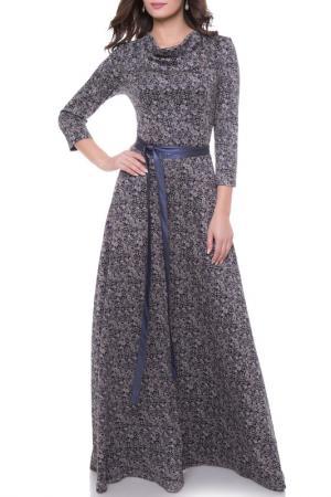 Платье Olivegrey. Цвет: черно-серый