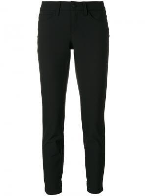 Укороченные брюки Cambio. Цвет: чёрный
