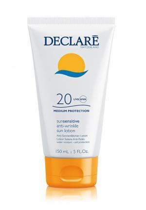 Солнцезащитный лосьон SPF 20 с омолаживающим действием Declare. Цвет: белый