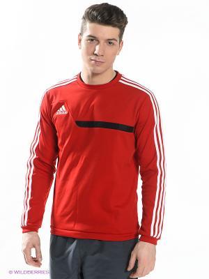 Джемпер TIRO13 SWT TOP Adidas. Цвет: красный