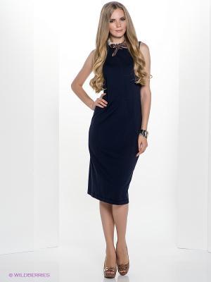 Платье Henry Cotton's. Цвет: темно-синий