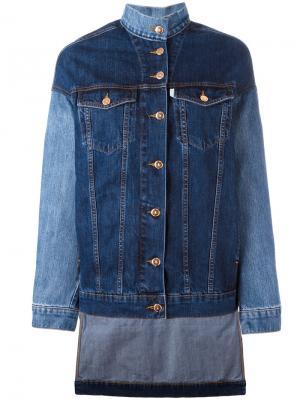 Embroidered moomin jacket Aalto. Цвет: синий