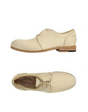 Обувь на шнурках O.X.S.. Цвет: бежевый
