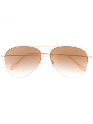 Солнцезащитные очки Stevie Kyme. Цвет: металлический