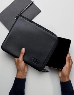 Eastpak Черный кожаный чехол для Ipad от. Цвет: красный