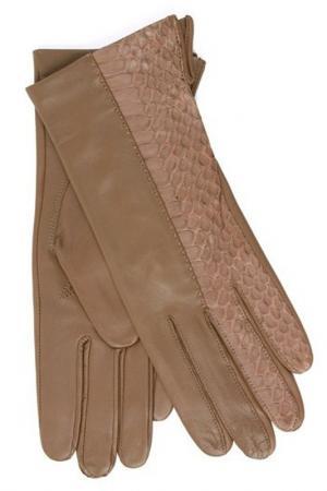 Перчатки Dali Exclusive. Цвет: ореховый