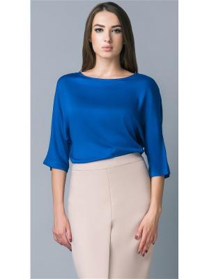 Блузка APRELLE. Цвет: индиго