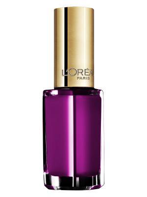 Лак для ногтей Color Riche, оттенок 133, Беспечный розовый, 5 мл L'Oreal Paris. Цвет: фиолетовый