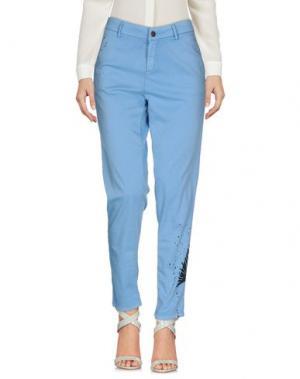 Повседневные брюки FOUDESIR. Цвет: небесно-голубой