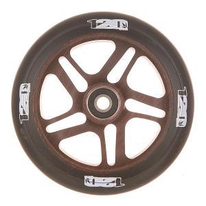 Колесо для самоката  Otr Wheel 120mm Wood Blunt. Цвет: черный,коричневый