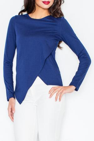 Блуза Figl. Цвет: navy blue