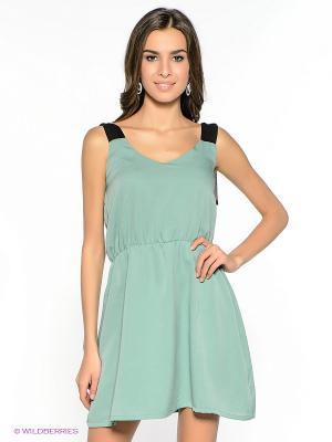 Платье Compania Fantastica. Цвет: серо-зеленый