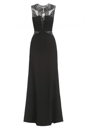 Платье из искусственного шелка 167853 Paola Morena. Цвет: черный
