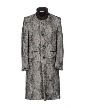 Пальто UMIT BENAN. Цвет: черный