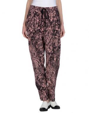 Повседневные брюки McQ Alexander McQueen. Цвет: пастельно-розовый