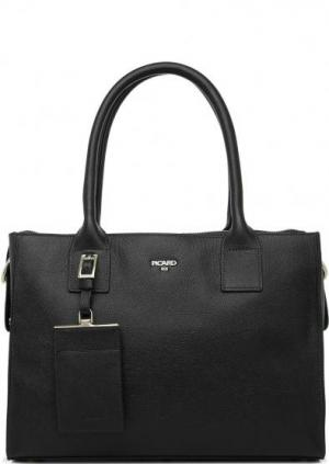 Черная сумка из натуральной кожи Picard. Цвет: черный