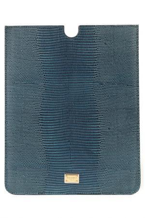 Чехол для IPAD DOLCE & GABBANA. Цвет: синий