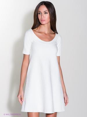Платье Isabel de Pedro. Цвет: молочный