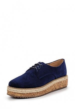 Ботинки Catisa. Цвет: синий