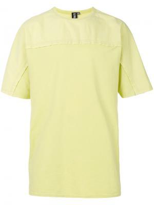 Футболка Bias Liam Hodges. Цвет: жёлтый и оранжевый