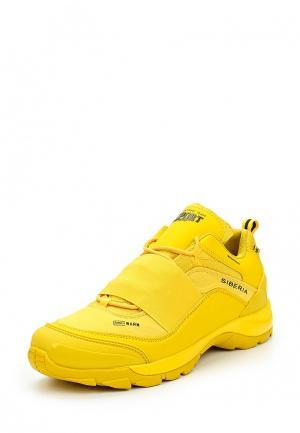 Кроссовки Zasport. Цвет: желтый