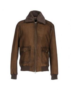 Куртка D'AMICO. Цвет: хаки