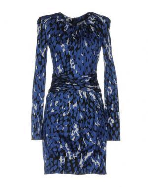 Короткое платье ISSA. Цвет: синий