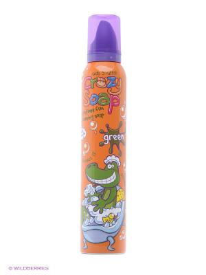 Мусс пена для детских забав и купания в ванной (зеленая) Kids Stuff. Цвет: светло-зеленый