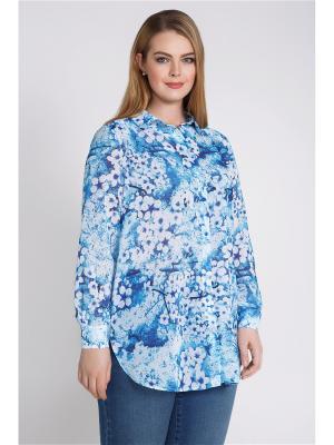 Блузка Bestiadonna. Цвет: голубой