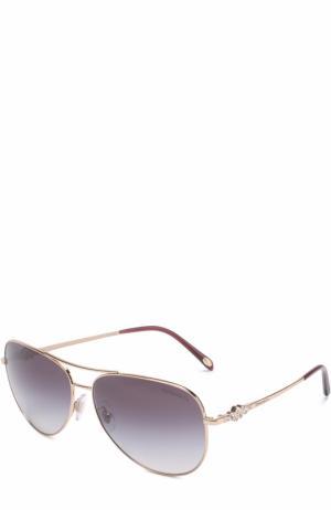 Солнцезащитные очки Tiffany & Co.. Цвет: золотой