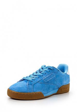 Кроссовки Reebok Classics. Цвет: голубой